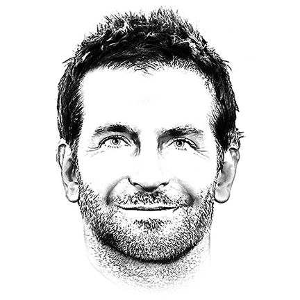 Black And White Portrait Illustrator